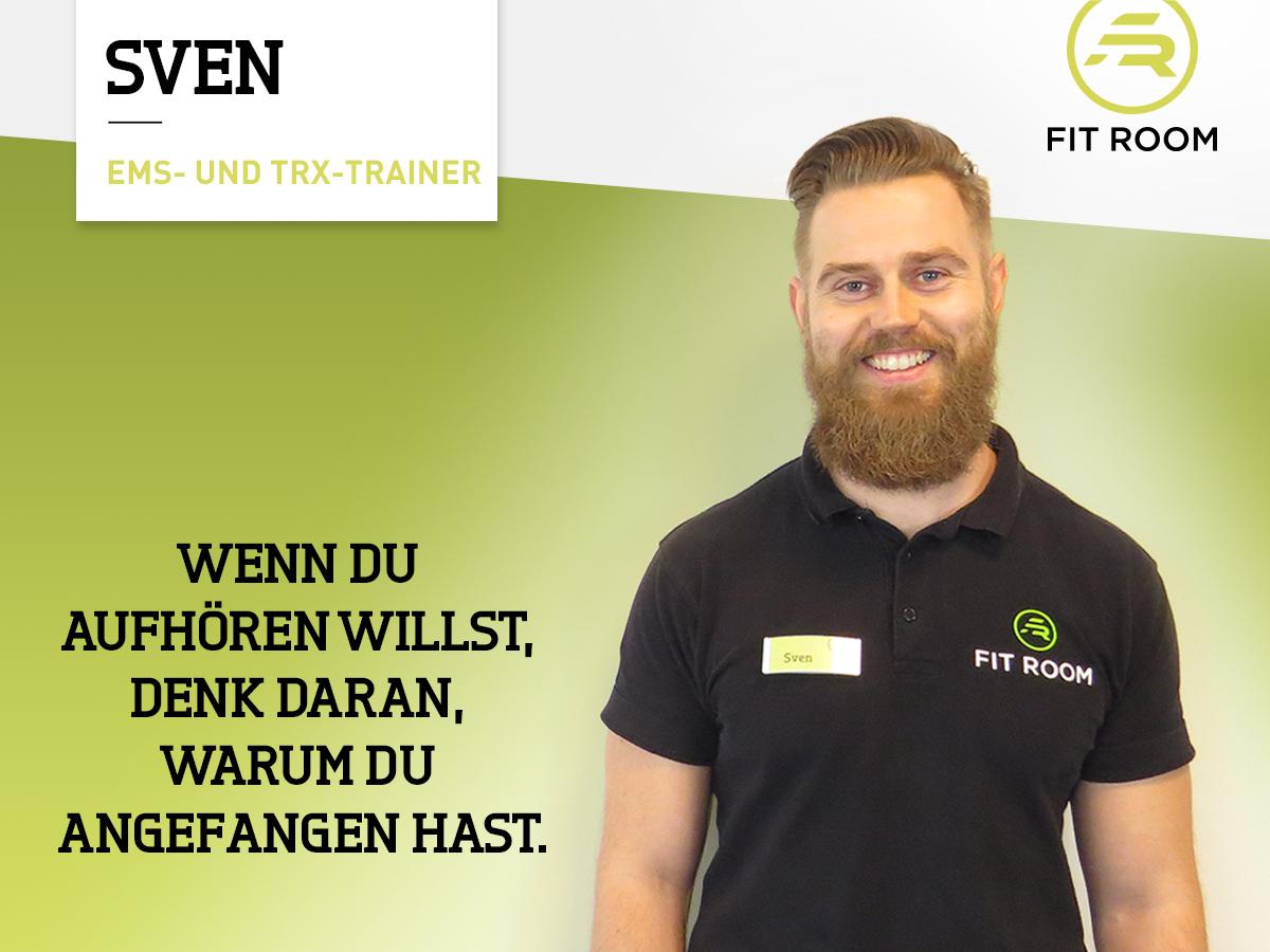 EMS- und TRX-Trainer Sven